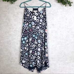 NWT Loft Strappy Floral Dress